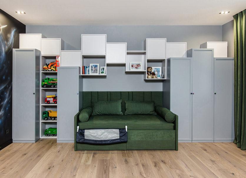 Полки и шкафы асимметричной формы