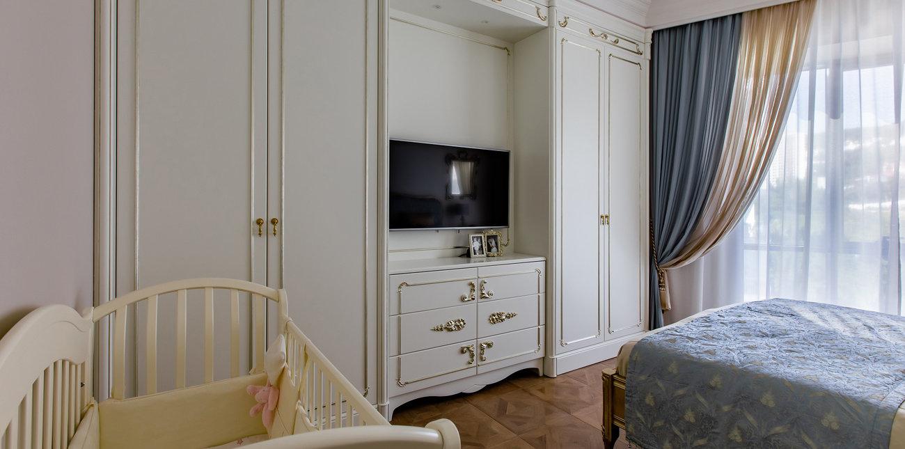 Спальня по проекту Евгении Тисленко