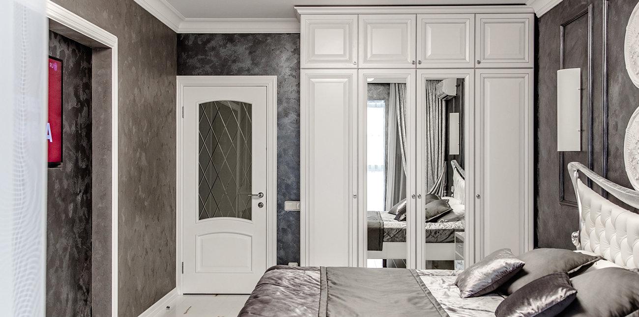Обустроили спальню
