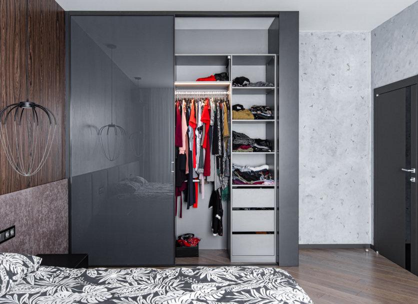 Спальня по проекту дизайнера Анастасии Росторгуевой