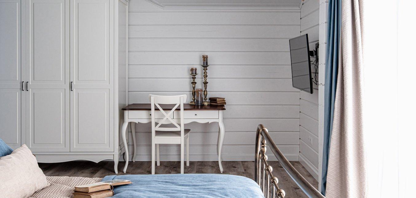 Спальня в коттедже